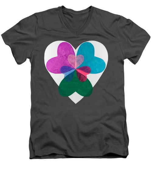 Have A Heart Men's V-Neck T-Shirt