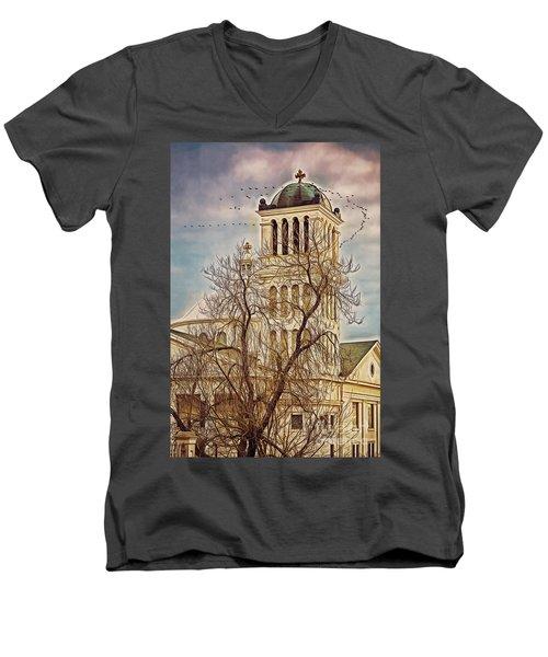 The Church On Oak Street Men's V-Neck T-Shirt
