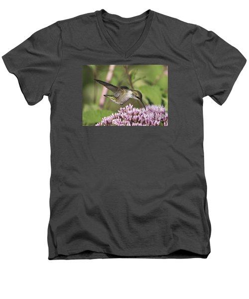 Having A Sip Men's V-Neck T-Shirt by Stephen Flint