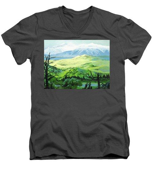 Hawk Meadows Men's V-Neck T-Shirt