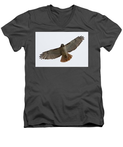 Hawk Overhead Men's V-Neck T-Shirt