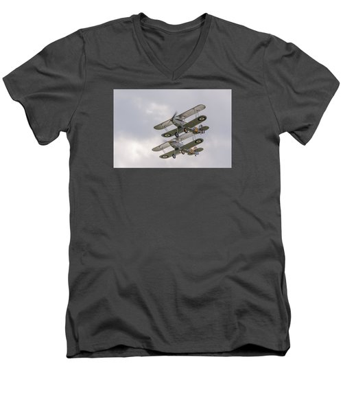 Hawker Nimrods Men's V-Neck T-Shirt