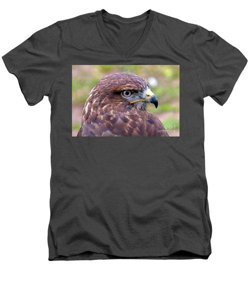 Hawks Eye View Men's V-Neck T-Shirt by Stephen Melia
