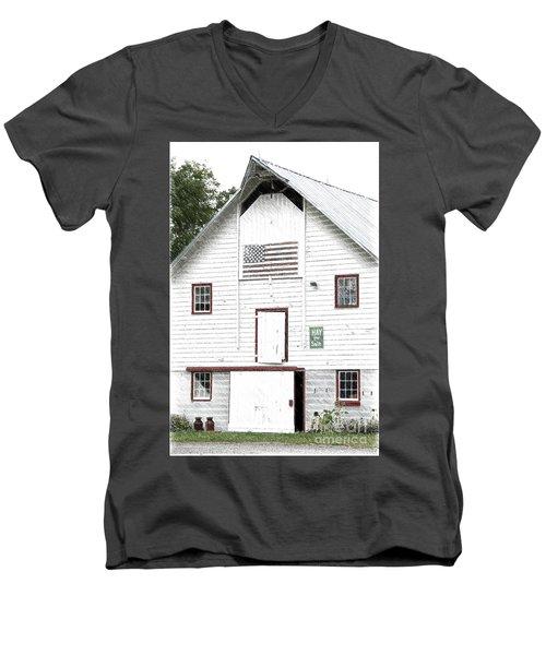 Hay For Sale Men's V-Neck T-Shirt by Nicki McManus