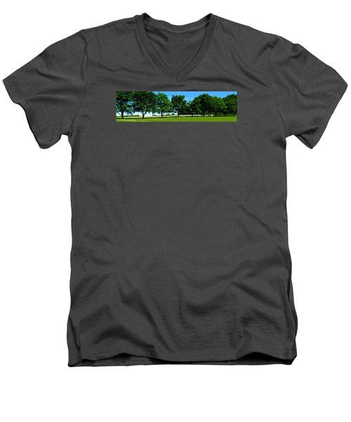 Hay Harvest Men's V-Neck T-Shirt