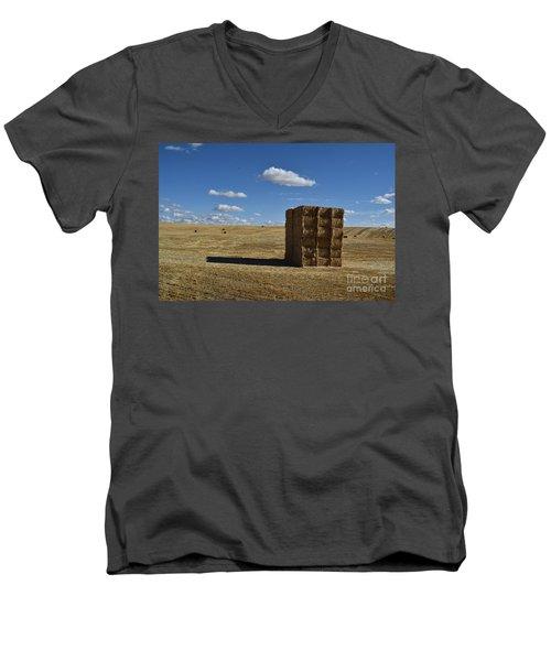 Haystack Off Hwy 2 Men's V-Neck T-Shirt