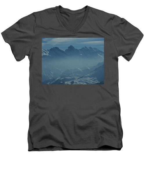 Haze In The Valley Men's V-Neck T-Shirt