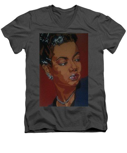 Hazel Scott Men's V-Neck T-Shirt