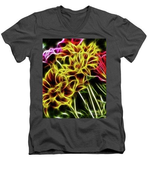 Hdr Light Drawing Men's V-Neck T-Shirt