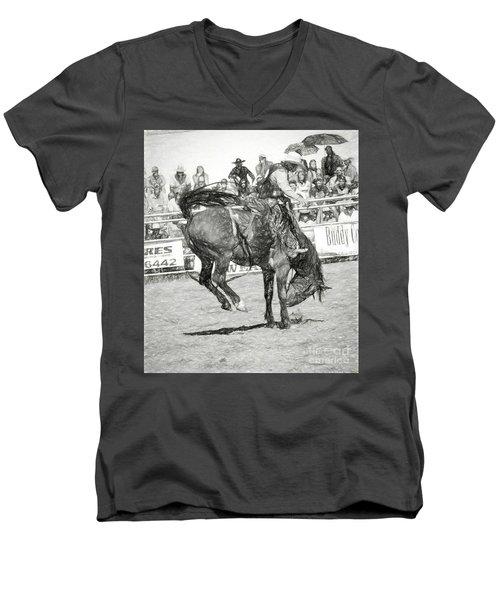 Head Down Men's V-Neck T-Shirt