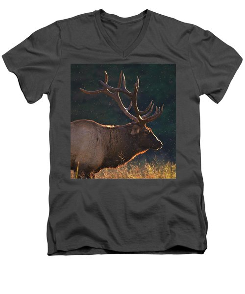 Head Of The Herd Men's V-Neck T-Shirt