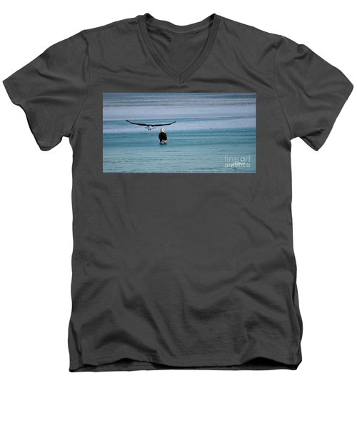 Heading Home Men's V-Neck T-Shirt
