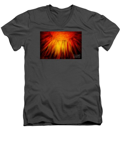 Healing Balm Men's V-Neck T-Shirt by Roberta Byram