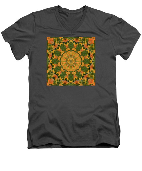 Healing Mandala 9 Men's V-Neck T-Shirt by Bell And Todd