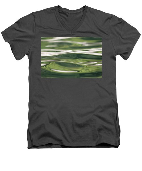 Men's V-Neck T-Shirt featuring the photograph Healing Waters by Cathie Douglas