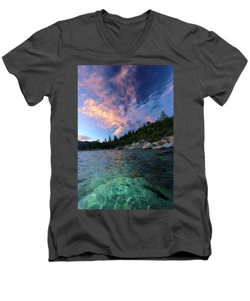 Healing Waters Men's V-Neck T-Shirt
