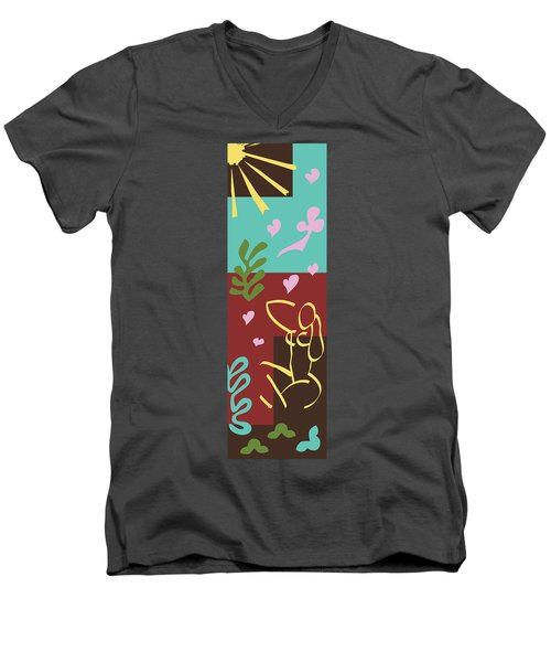 Health - Celebrate Life 3 Men's V-Neck T-Shirt