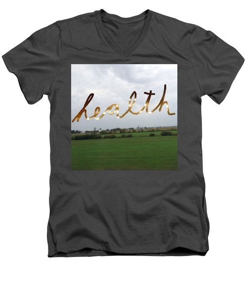 Health Men's V-Neck T-Shirt