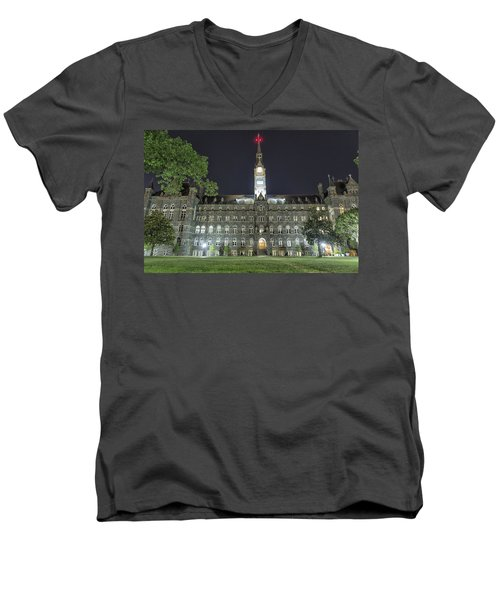Healy Hall Men's V-Neck T-Shirt