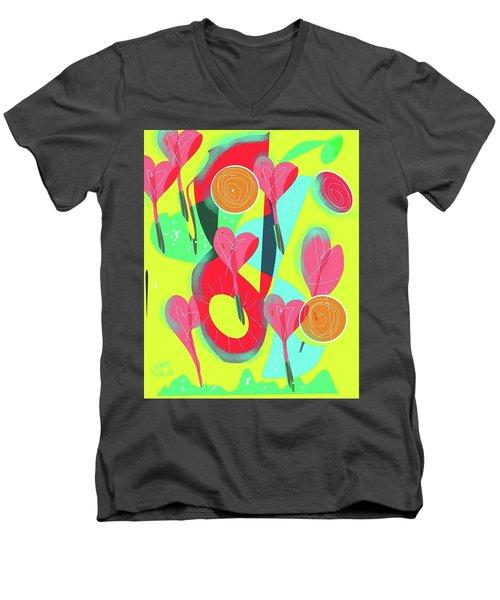 Heart Attack Men's V-Neck T-Shirt