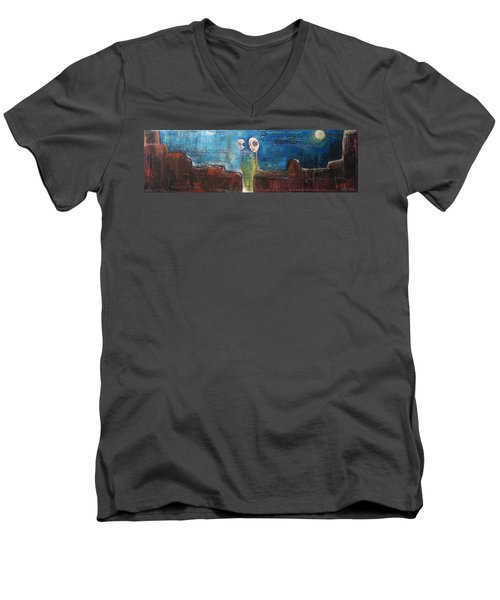 Heart Beats The Same Men's V-Neck T-Shirt