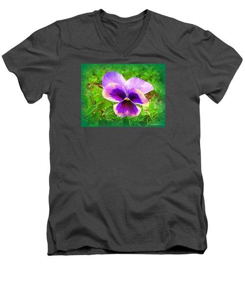 Heart Ease II Men's V-Neck T-Shirt