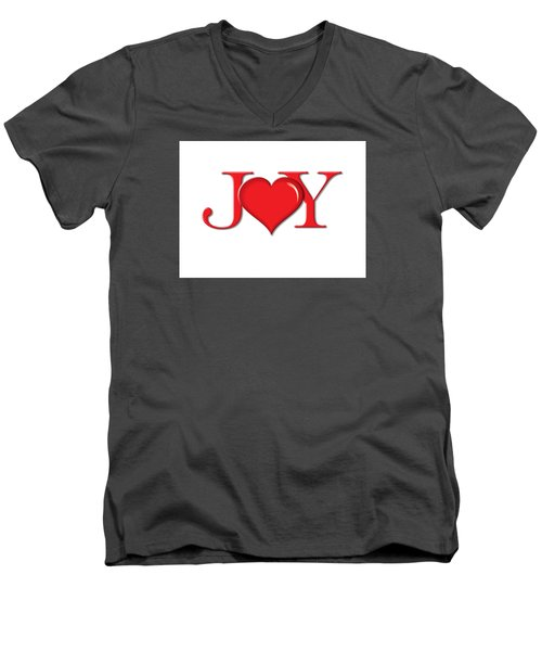 Heart Joy Men's V-Neck T-Shirt