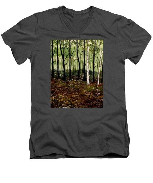 Heart Times Men's V-Neck T-Shirt