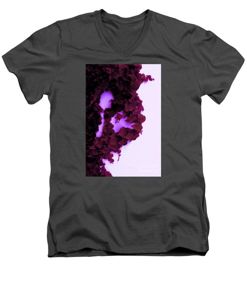 Men's V-Neck T-Shirt featuring the photograph Heartbreak by Vanessa Palomino