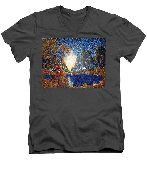 Hearts Heal Men's V-Neck T-Shirt