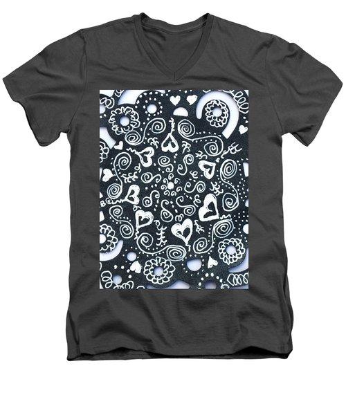 Hearty Men's V-Neck T-Shirt