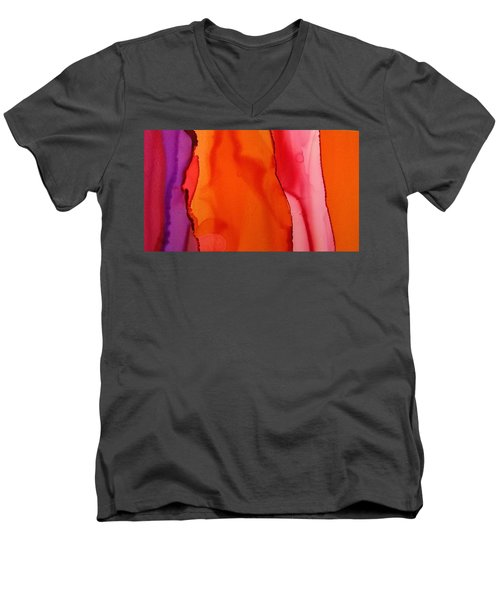 Heat Waves Men's V-Neck T-Shirt