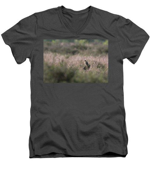 Heath Song  Skylark Men's V-Neck T-Shirt