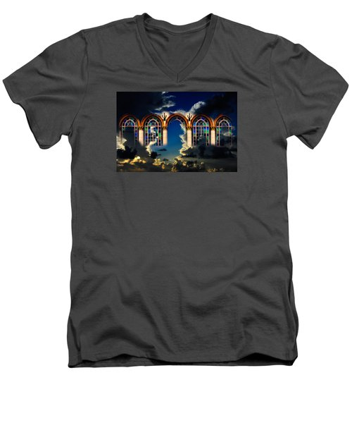 Heaven Men's V-Neck T-Shirt