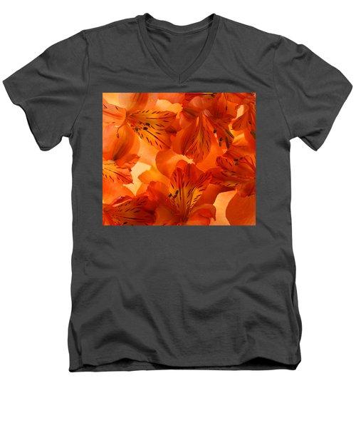 Heavenly Men's V-Neck T-Shirt by Bobby Villapando