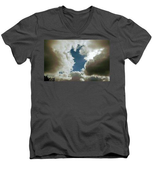 Majestic Clouds  Men's V-Neck T-Shirt