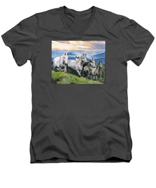 Heavenly Home Men's V-Neck T-Shirt