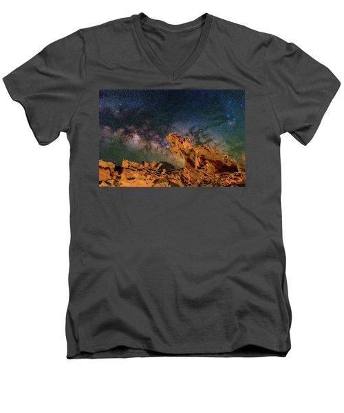 Heavenly Horses Men's V-Neck T-Shirt