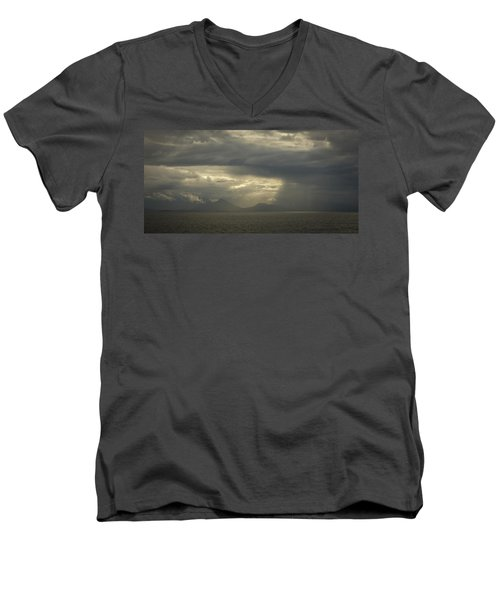 Heavenly Rays Men's V-Neck T-Shirt