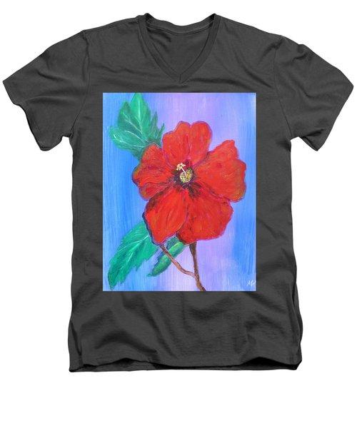 Heavenly Scent Men's V-Neck T-Shirt by Maria Watt