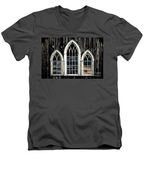 Men's V-Neck T-Shirt featuring the photograph Heaven's Reflection by Brad Allen Fine Art