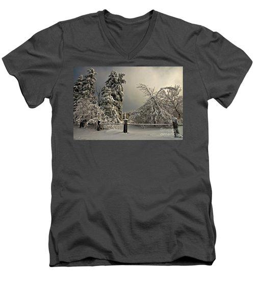 Heavy Laden Men's V-Neck T-Shirt