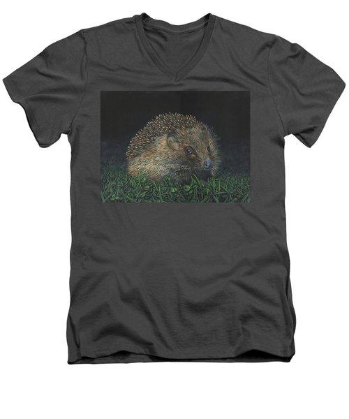Hedgehog Men's V-Neck T-Shirt