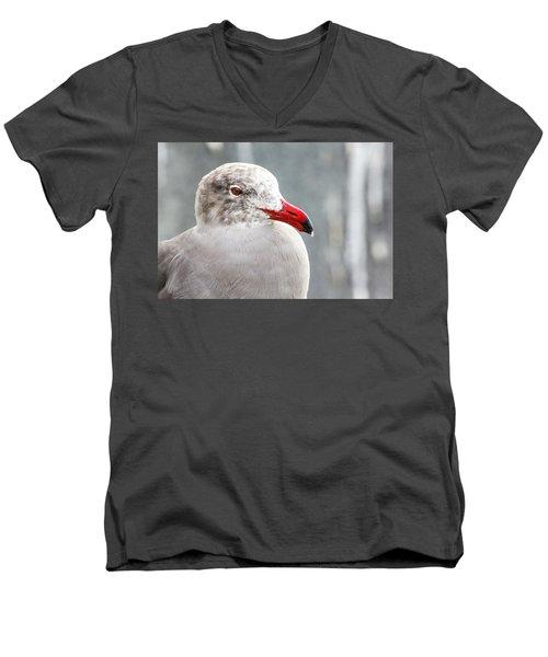 Heerman's Gull Men's V-Neck T-Shirt