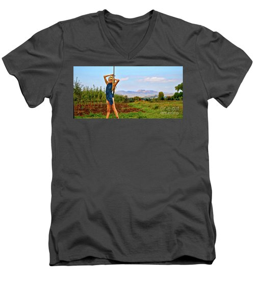 Heidi Estrella #1 Men's V-Neck T-Shirt