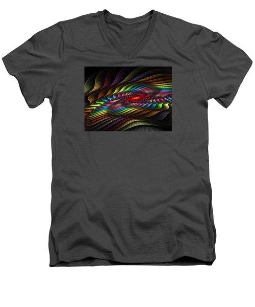 Helix Men's V-Neck T-Shirt