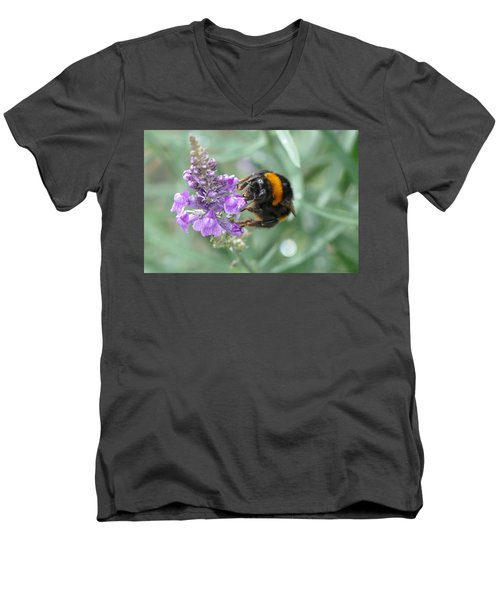 Hello Flower Men's V-Neck T-Shirt