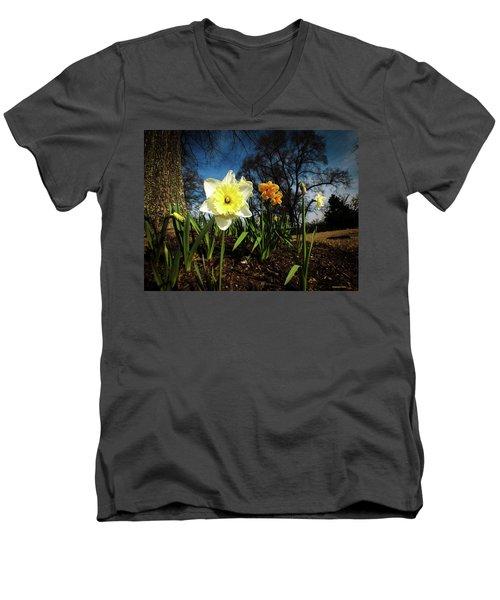 Hello Spring Men's V-Neck T-Shirt