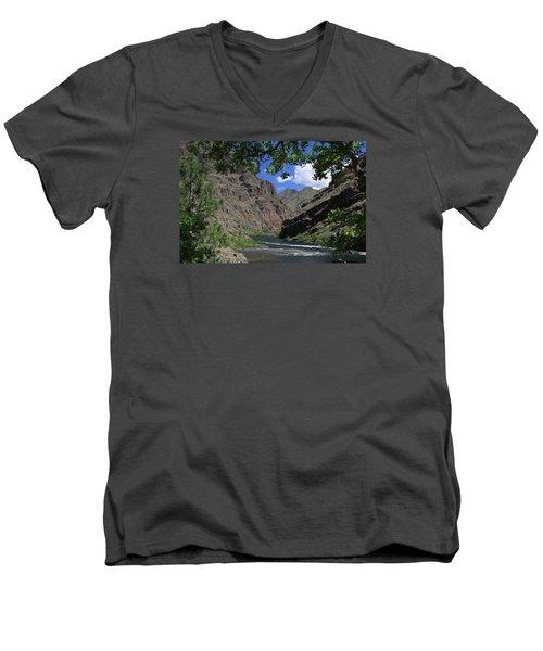 Hells Canyon Snake River Men's V-Neck T-Shirt