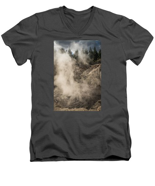 Hells Gate Men's V-Neck T-Shirt